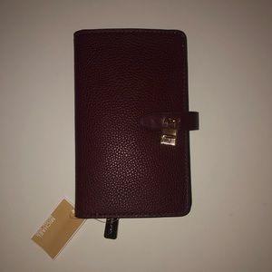 Michael Kors Adele Slim Bifold Wallet in Merlot